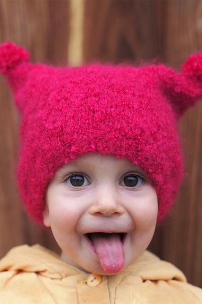 Bonnet Bébé • Fuchsia