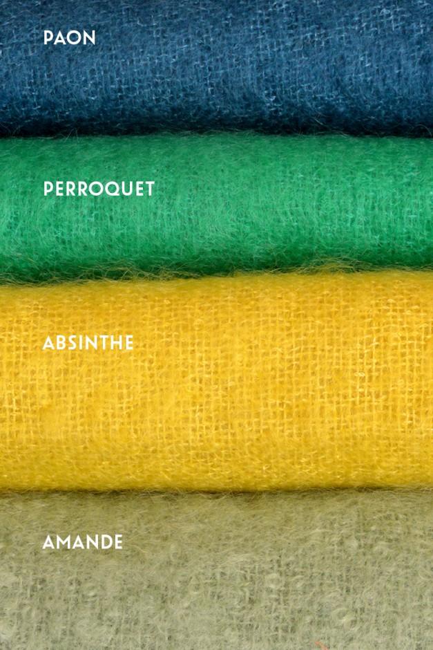 Paon / Perroquet / Absinthe / Amande