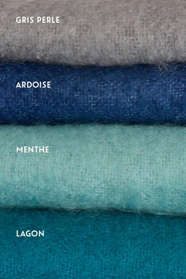 Gris perle / Ardoise / Menthe / Lagon