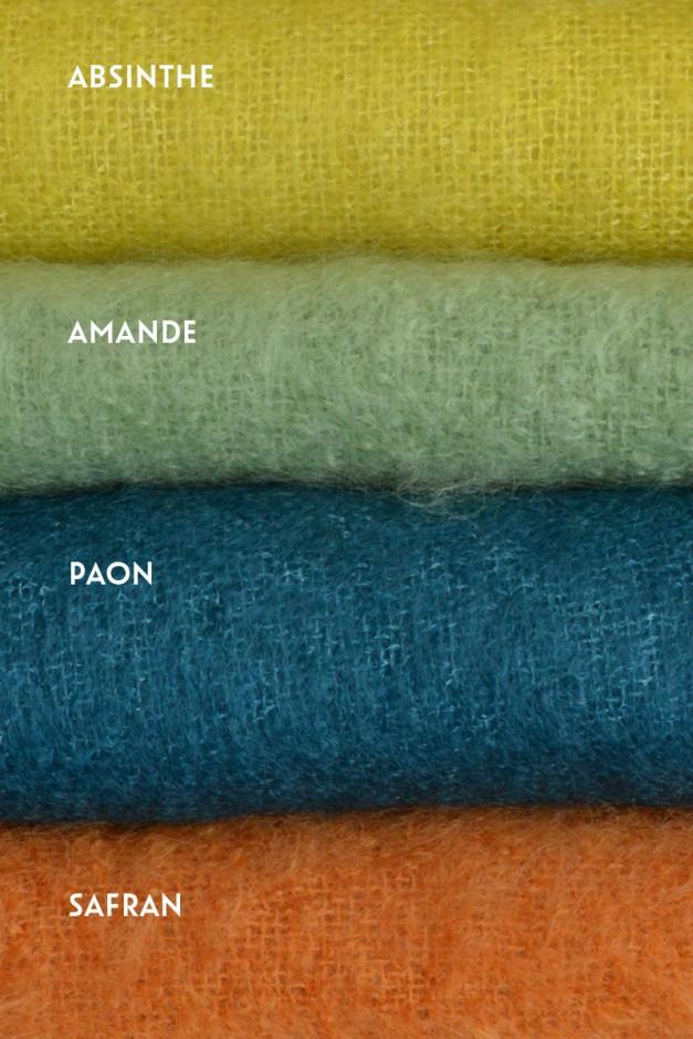 Absinthe / Amande / Paon / Safran
